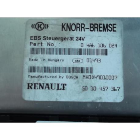 Блок управления эбу Renault Magnum 0486106024 5010457367 EBS