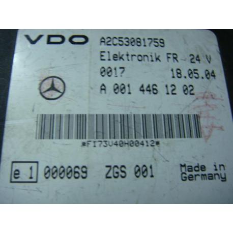 Блок управления FR Mercedes Atego Actros Axor 0014461232
