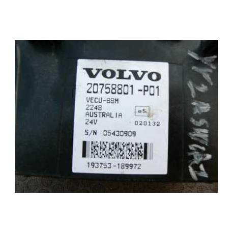 Блок управления эбу Volvo FH12 20758801-P01 vecu-bbm