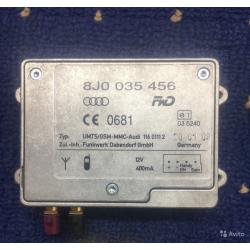 Блок управления 8J0035456 Audi A6 C6
