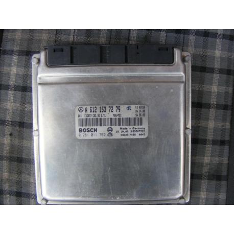 Блок управления двигателем эбу sprinter 2.7cdi A6121537279  0281011752
