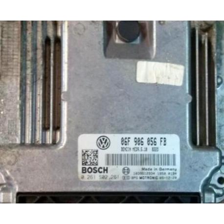 Блок управления двигателем эбу VW Passat 2.0FSI  06F906056FB