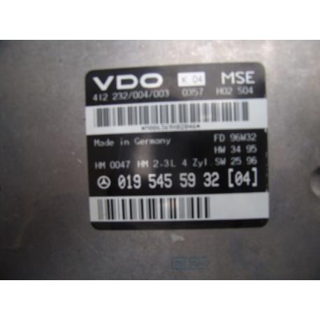 Блок управления двигателем Mercedes W210 2.3 W210 0195455932