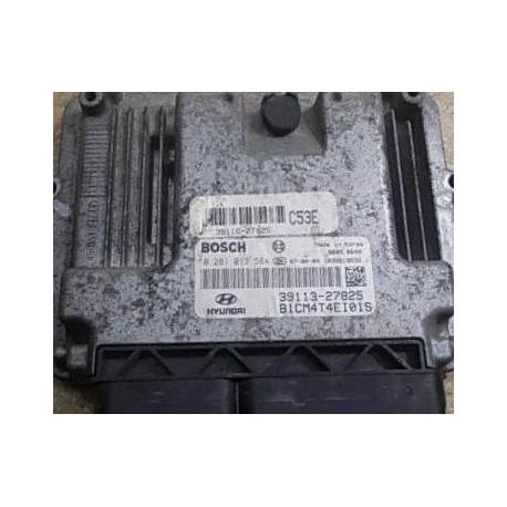 Блок управления двигателем Hyundai Santa Fe  39113-27825 0281013584