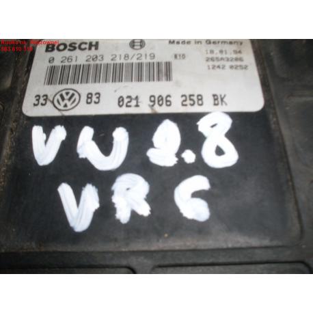 Блок управления двигателем VW Golf 3 2.8 VR6 021906258BK
