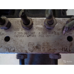 Блок абс Мерседес Крафтер W906 ABS 0074314812