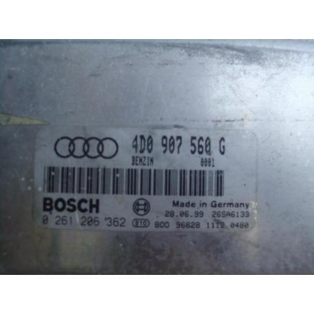 Блок управления двигателем эбу Audi A8 4D0907560G 0261206362 4.2 QUATTRO