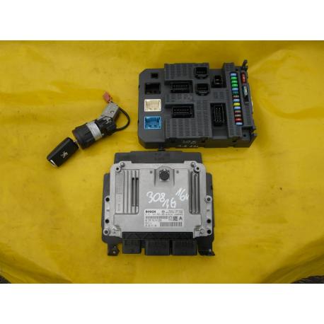 Блок управления двигателем эбу Peugeot 308 DS3 0261S04009