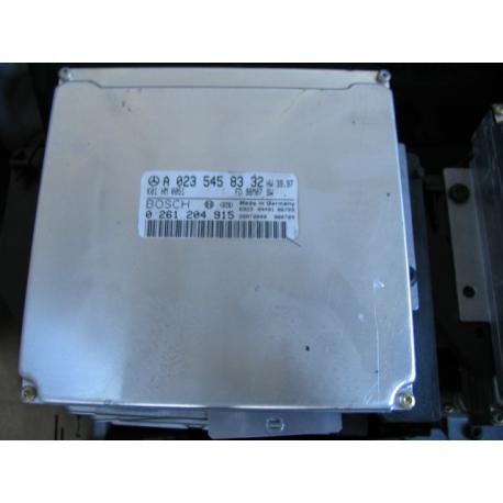 Блок управления двигателем эбу Mercedes W208 0235458332