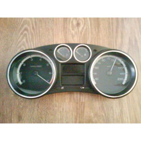 Приборная панель Peugeot 308 1.6 акпп 9666642080