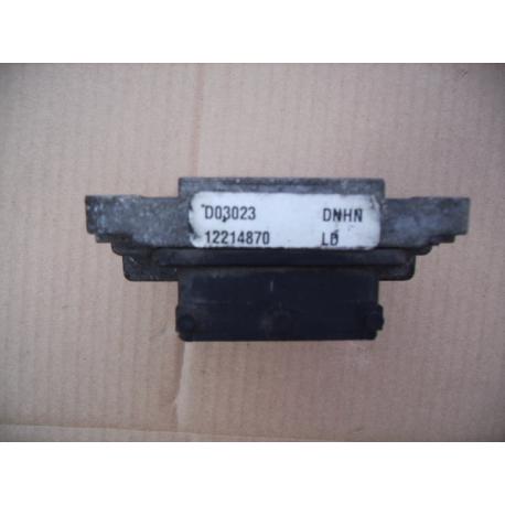 Блок управления двигателем эбу Opel Astra Zafira Z16XE 12214870  комплект