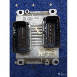 Блок управления Opel Corsa C 1.2 24443796
