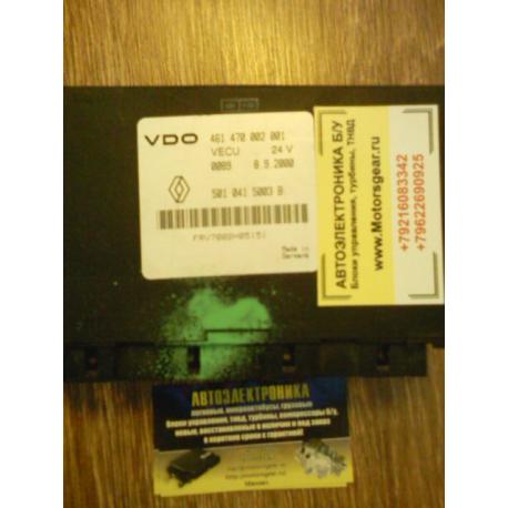 Блок управления двигателем Renault  Magnum  VECU 461470002001 5010415003