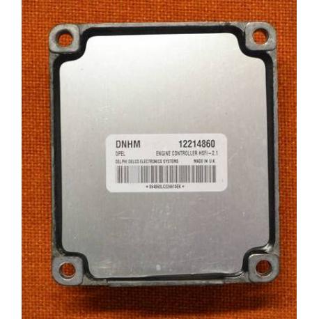 Блок управления двигателем 12214860  HSFI 2.1 OPEL Z16SE