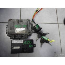 Комплект эбу+ ключ Renault DCI DXI 0281011486