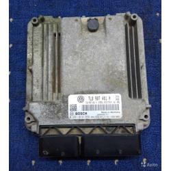 Блок управления 7L0907401H 0281014355 VW touareg