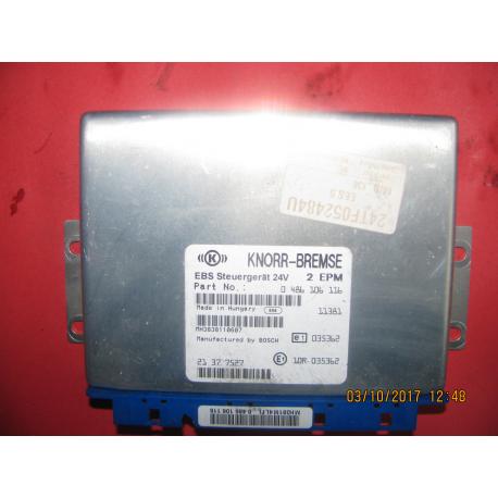 Блок управления эбу Renault Magnum EBS 0486106057  5010457739