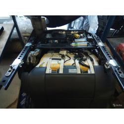 Переднее сиденье комплектное VW touareg 2009