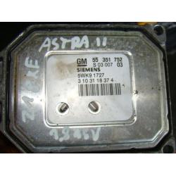 Блок управления двигателем Opel Astra  Z18XE 1.8  55351752