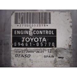Блок управления двигателем Toyota Avensis 89661-05770 DENSO