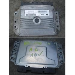 Блок управления двигателем эбу Renault Megane III Fluence 1.6 V29004369A 23710 0132R 23710 0131R