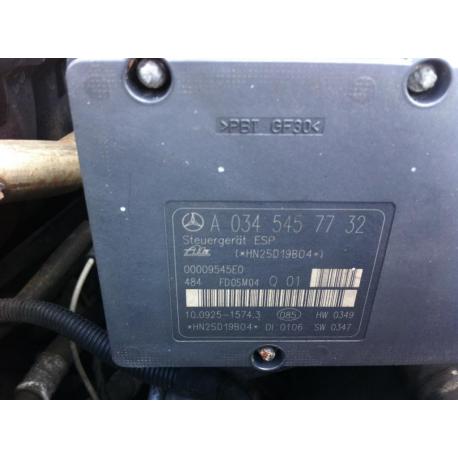 Гидроблок ABS ESP Mercedes W203 W204  A 0345457732 A 0054312912