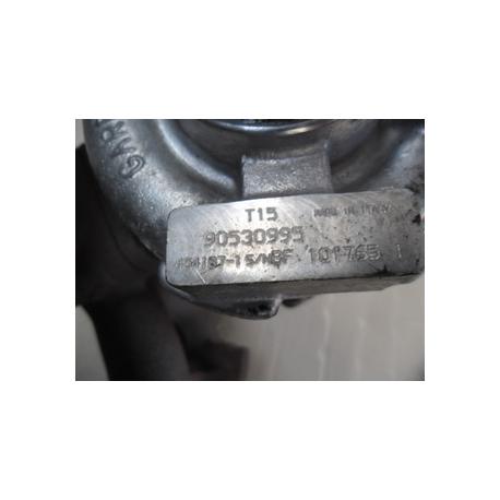 Турбина Opel Astra F 1.7 TD 90499271, 454092-5001S 454092-0001