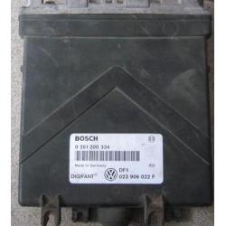 Блок управления двигателем эбу VW T4 2.5 E 023906022F 0261200334