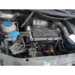 Двигатель BDJ с навесным VW Caddy 2.0SDI