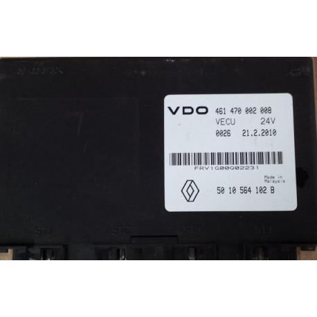 Блок управления VECU VDO Renault Magnum 461470002008 / 5010264102 B