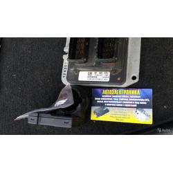 Блок управления двигателем Opel Astra G 90560476