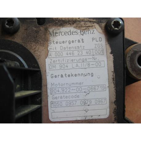 Блок управления двигателем Mercedes Atego  Actros Axor 0004462340 OM904 LA II