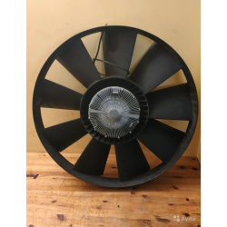 Вентилятор охлаждения вискомуфта MAN F2000 с проводом