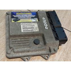 Блок управления двигателем Fiat Doblo 1.3 2007 51805371 MJD 6F3.D4