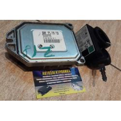 Комплект блок управления двигателем Opel Astra Vectra Zafira Z18XE 09158726