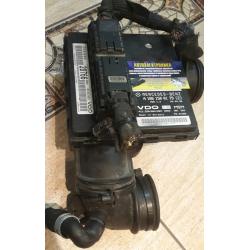 Блок управления двигателем Mercedes W168 A 1661500179 (2) vdo