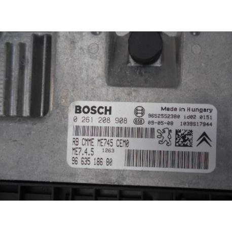 Блок управления двигателем Citroen Xsara Picasso  1.6 16V 261208908