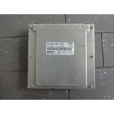 Блок управления двигателем Mercedes Vito W638 0245457432 0281001987