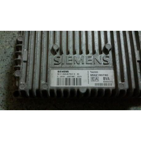 Блок управления АКПП Citroen C3 S118047511C ECU 9642160780