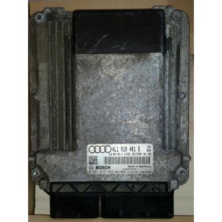 Блок управления двигателем Audi Q7 3.0TDI 4L1910401D 0281015868