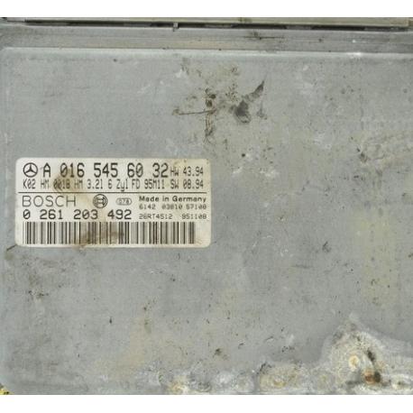 Блок управления двигателем MERCEDES W124 3.2 0165456032