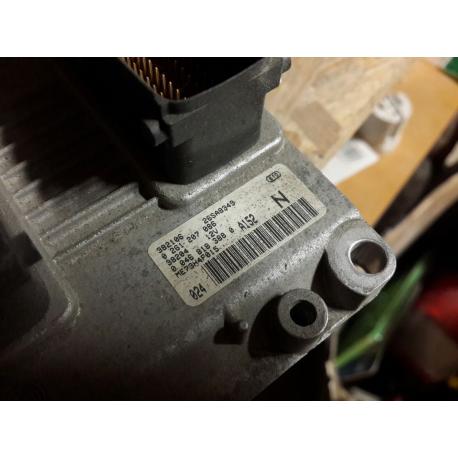 Блок управления двигателем  Fiat Punto II 1.2 16V 0261207086 комплект