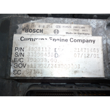 Блок управления двигателем DAF LF 450281010254