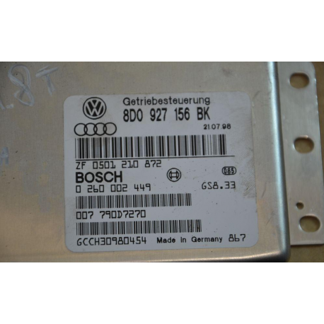 Блок управления АКПП  Audi A4 VW Passat 1.8T  0260002449 8D0927156BK