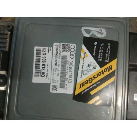 Блок управления AUDI A4 B7 170лс 2.0 TDI   03G906018AQ / 5WP45549AH