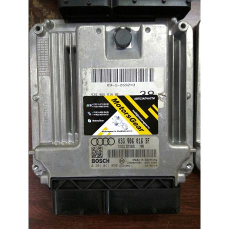 Блок управления двигателем  Audi A6 C6 2.0TDI  03G906016BF 0281011850
