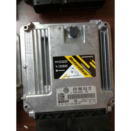Блок управления двигателем VW T5 070906016CR 2.5TDI 0281012720