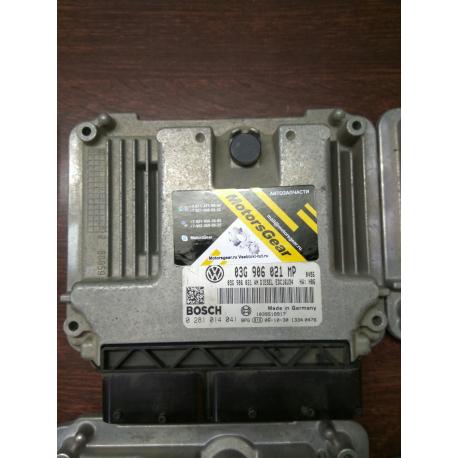 Блок управления двигателем VW Touran 2.0 TDI  03G906021MP 0281014041